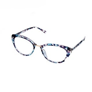 Hot Optix Ladies Multicolored Cateye Reading Glasses