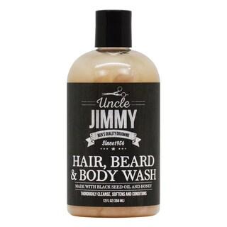 Uncle Jimmy 12-ounce Hair Beard & Body Wash