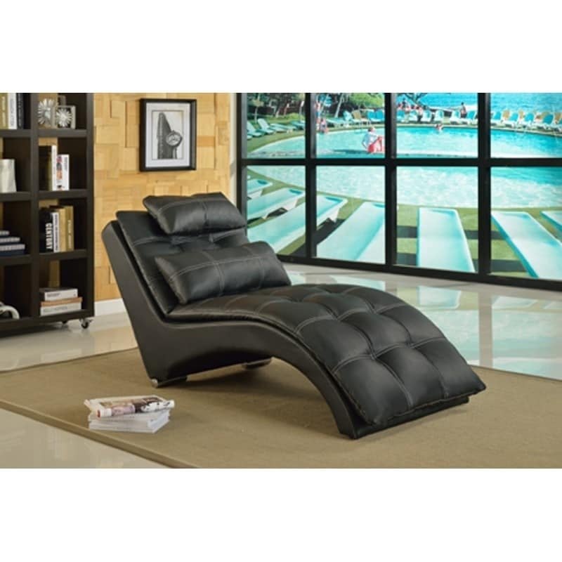 Best Quality Furniture Tufted Chaise Lounge (2 Options Available)