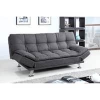 Shop Furniture Of America Elephant Skin Dark Grey