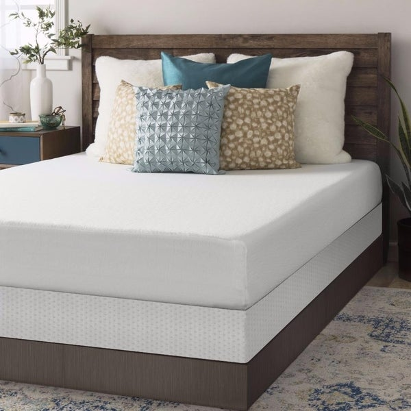Full Size Memory Foam Mattress 8 Inch With Bi Fold Box