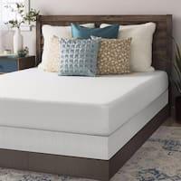 Full size Memory Foam Mattress 8 inch with Bi-fold Box Spring Set - Crown Comfort
