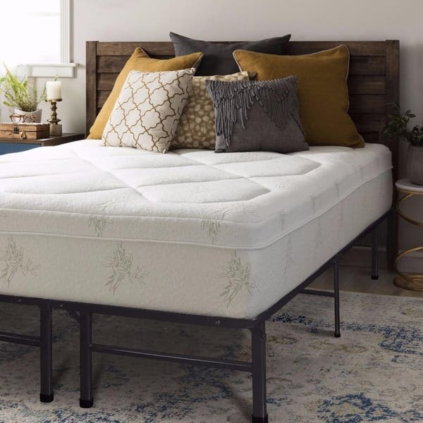 Shop Queen size Memory Foam Mattress Grand 12 inch with Bed Frame