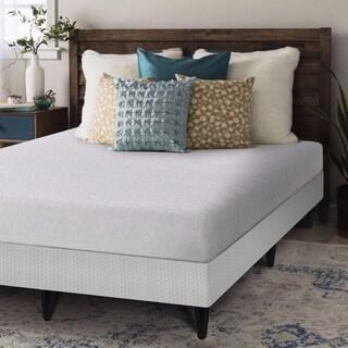 Crown Comfort Gel 7-inch Twin-size Bi-fold Box Spring and Memory Foam Mattress Set