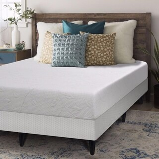 Crown Comfort 8-inch Air Flow Memory Foam Mattress and Box Spring with Legs Set