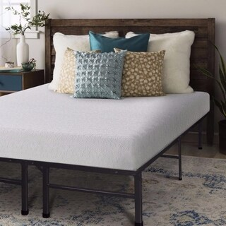 Crown Comfort 7-inch Gel Memory Foam Mattress and Platform Bed Set