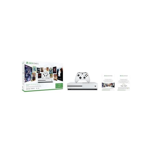 Microsoft Xbox One S 500GB Console - Starter Bundle