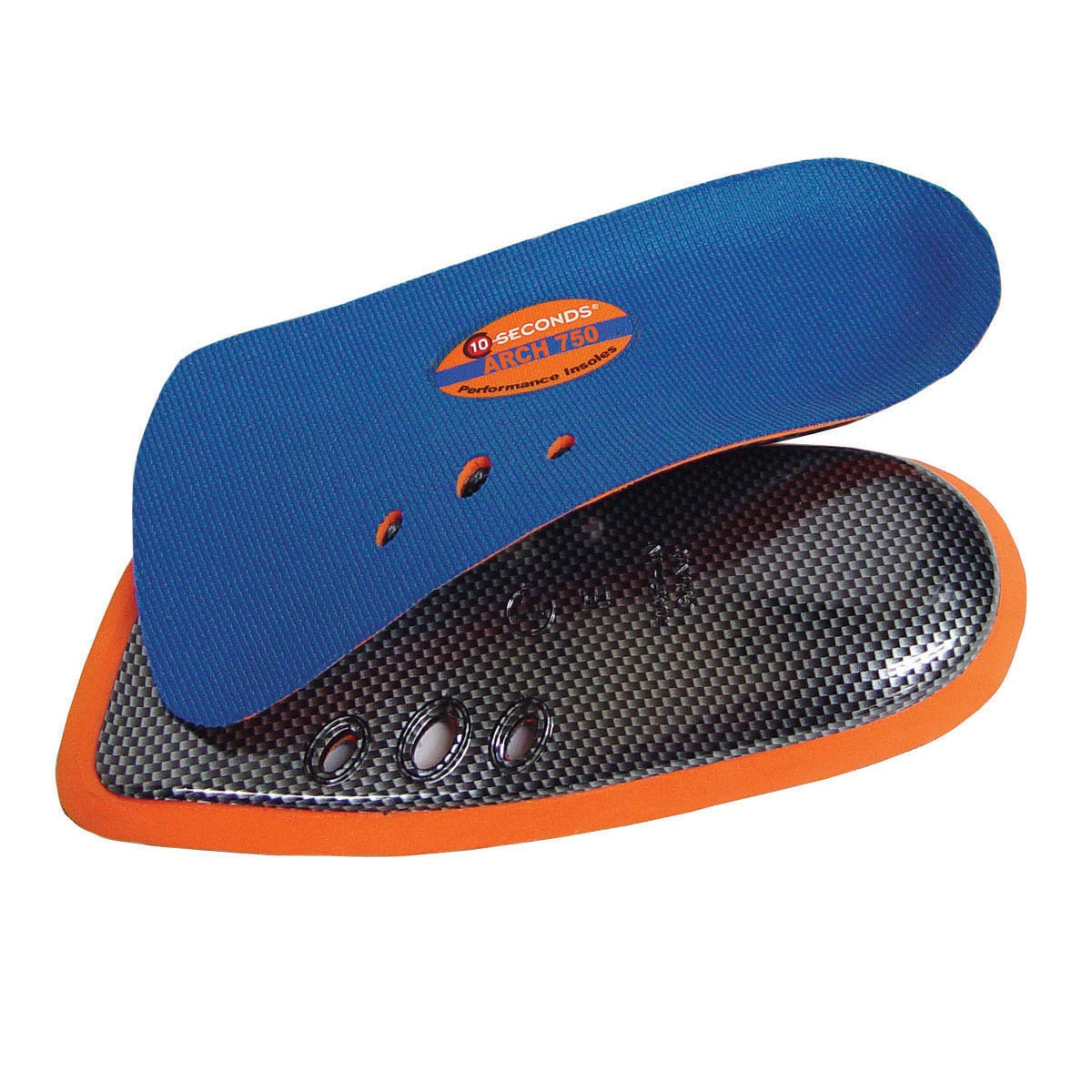 10 Seconds Arch 750 3//4 Performance Insoles Stability Shoe Inserts//Orthotics