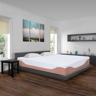 Sleeplanner 10-inch Queen-Size I-Gel Infused Multi Layered Memory Foam Mattress