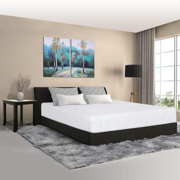 Sleeplanner 10-inch Twin-Size Hybrid I-Gel Infused Innerspring Mattress