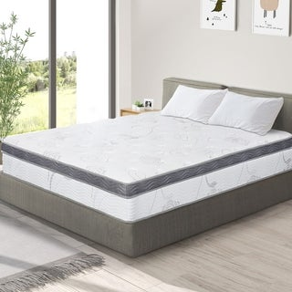 Link to Sleeplanner 12-inch Hybrid Memory Foam Innerspring Mattress Similar Items in Mattresses