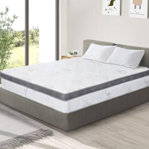 Sleeplanner 12-inch Hybrid Memory Foam Innerspring Mattress