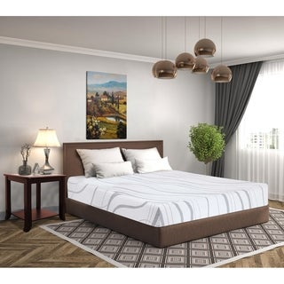 Sleeplanner 8-inch Twin-Size IVY Multi Layered Ventilation Memory Foam Mattress