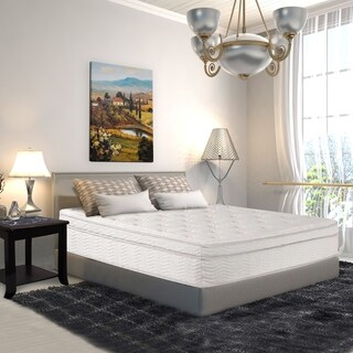Sleeplanner 13-inch Queen-Size Hybrid Dura Coil Box Top Spring Mattress