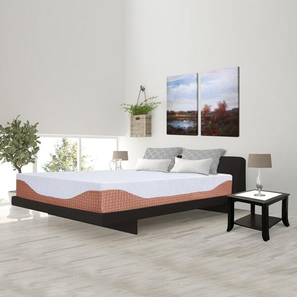 Sleeplanner 12-inch Gel Memory Foam Mattress