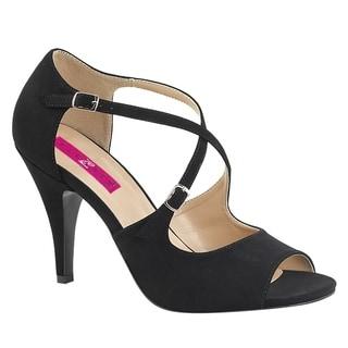 PLEASER PINK LABEL DREAM-412 Womens Criss Cross Buckle Strap Stiletto Pump heels