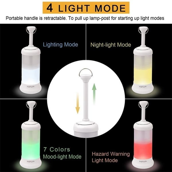 Rechargeable Camping Lantern Portable Outdoor Led