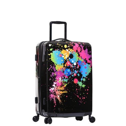 Body Glove Bursts 26-inch Hardside Spinner Suitcase - 26.0 In. X 12.0 In. X 18.0 In.
