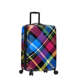 Body Glove Tartan 22-inch 8-Wheel Hardside Spinner Suitcase