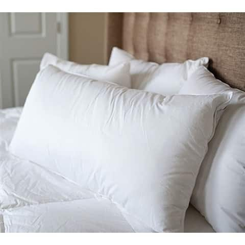 BYB German Milled Batiste White Goose Down Standard Pillow