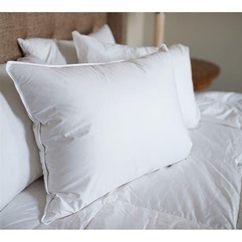 BYB White Duck Down Standard Pillow