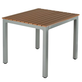 Cortesi Home Avery Aluminum Outdoor Table (As Is Item)