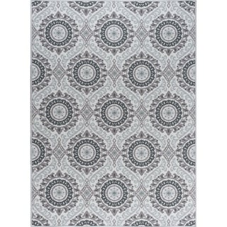 Alise Rugs Majolica Transitional Geometric Area Rug (ivory - 67 x 96)
