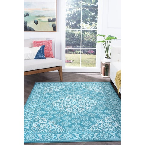 Alise Rugs Majolica Traditional Oriental Area Rug