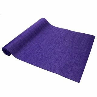 Oak and Reed Yoga and Exercise Textured Reversible Yoga Mat