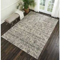 "Kelly Ripa Home Origin Ivory/ Grey Area Rug by Nourison - 7'9"" x 10'10"""