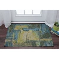 Drayton Abstract Acrylic Chenille Scatter Rug - 2' x 3'