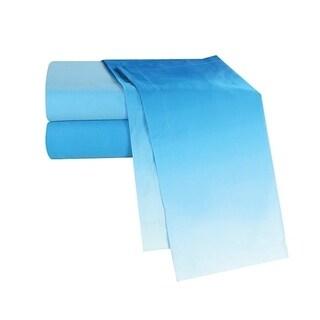 Ombre Aqua Sheets