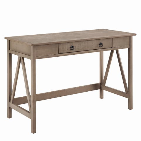 Linon Elaine Driftwood Writing Desk