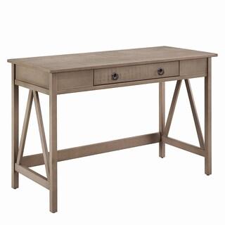 Linon Elaine Driftwood Desk
