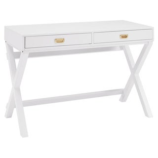 Poppy White Writing Desk