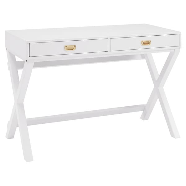 shop poppy white writing desk  on sale  free shipping