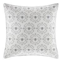 Stone Cottage Bee Medallion Throw Pillow