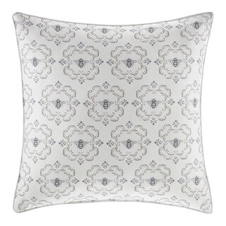 Stone Cottage Bee Medallion Throw Pillow