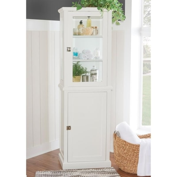 Shop Sydney Blue 2 Door Tall Cabinet Free Shipping Today