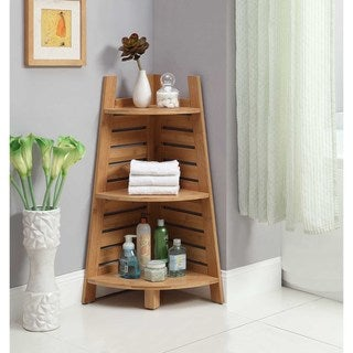 Bracken Bamboo Corner Shelf