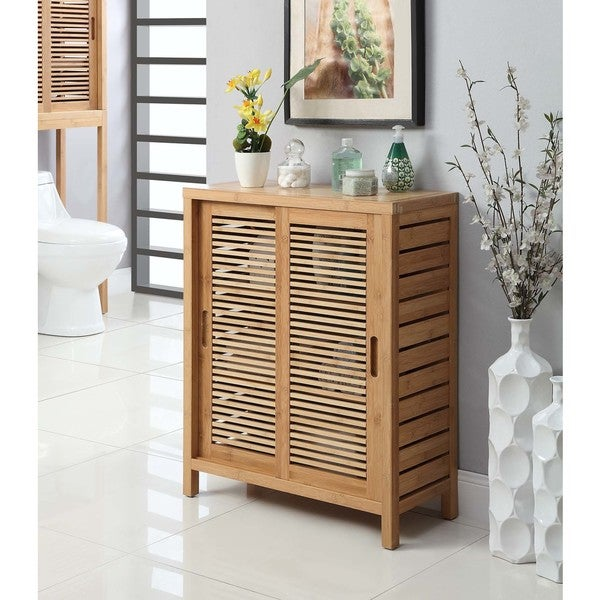 Terrific Shop Bracken Two Door Floor Cabinet Free Shipping Today Home Interior And Landscaping Ologienasavecom