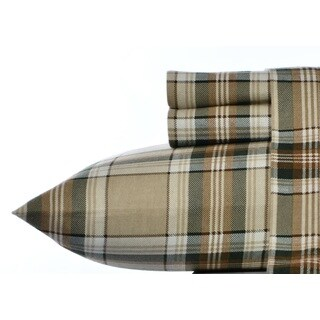 Eddie Bauer Edgewood Plaid Pine Sheet Set