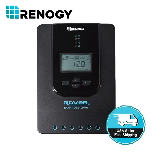 Renogy Rover 20 Amp MPPT Solar Charge Controller
