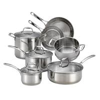 T-Fal Performa X Stainless Steel 11 Pc. Cookware Set