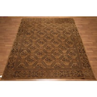 "Hand Knotted Traditional Classic Tibetan Area Rug  (8'x9'6"")"