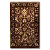 Ornamental Pure Wool Oriental Persian Area Rug - multi