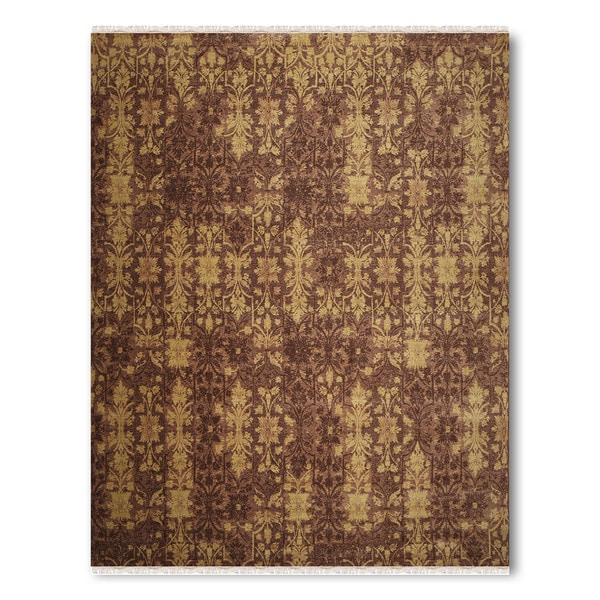Pure Wool Transitional Contemporary Handmade Persian Oriental Area Rug - multi