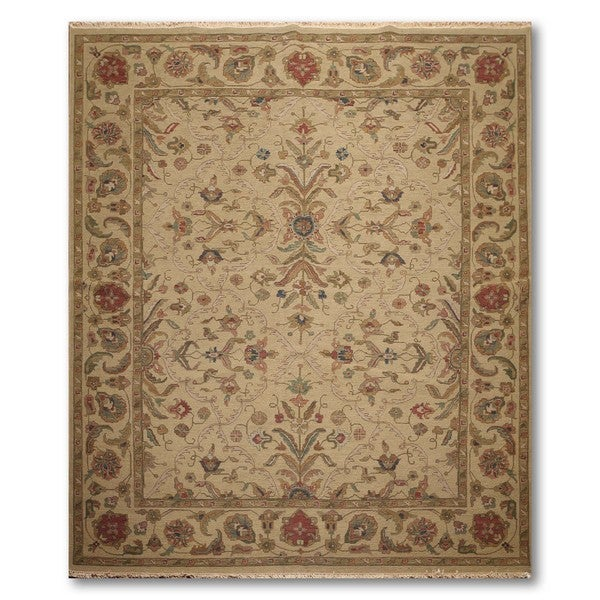 Traditional Pure Wool Hand Knotted Reversible Soumak Oriental Rug - 8'x10'