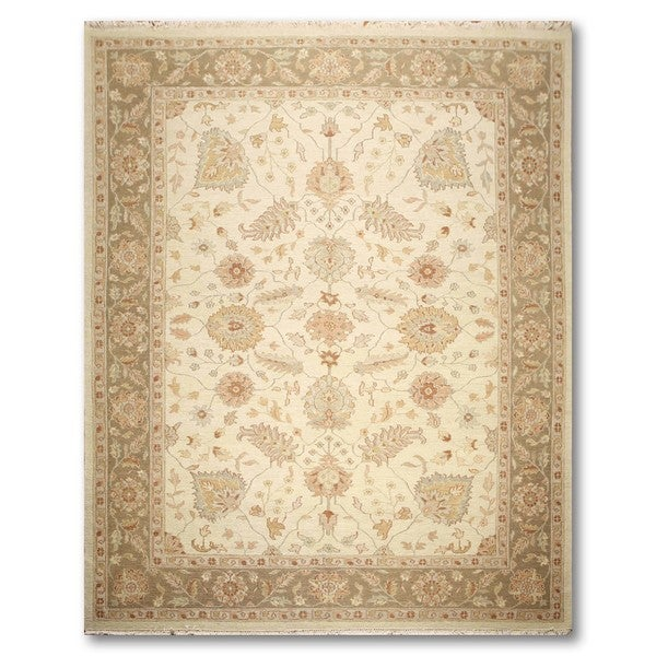 "Hand Knotted Reversible Traditional Soumak Oriental Area Rug (9'x11'11"")"