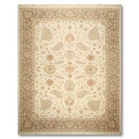 Hand Knotted Reversible Traditional Soumak Oriental Area Rug - 9'x11'11""